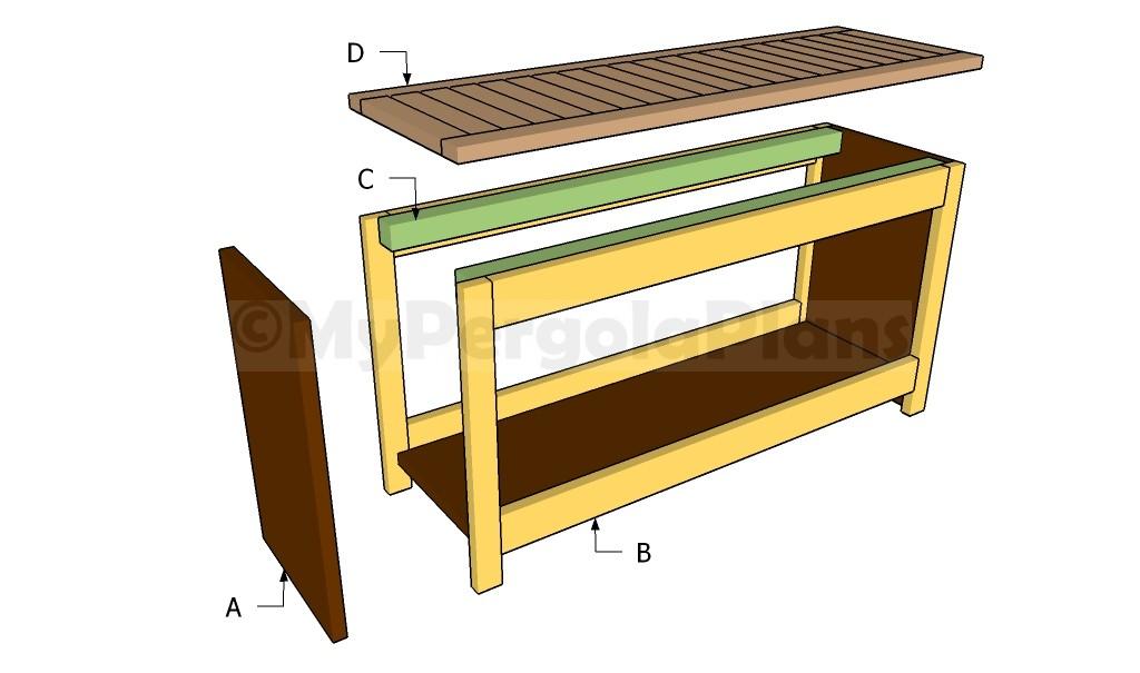 Building a modern bench
