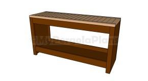 Modern Bench Plans