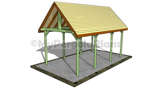 Outdoor Pavilion Plans Free Pergola Plans