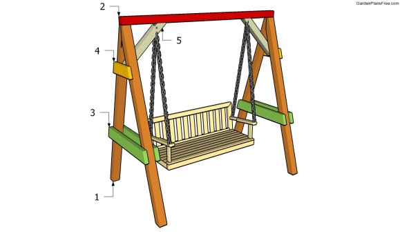 easy diy swing set plans 15 outdoor wood furniture plans free pergola plans