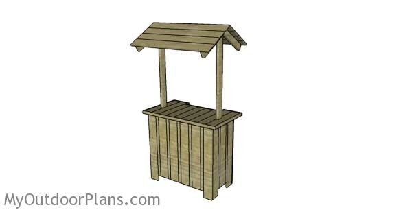 Outdoor-tiki-bar-plans